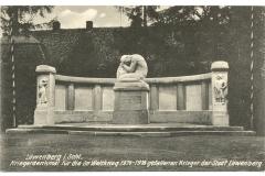 """Pomnik Wojny 1914-1918"" - 1924"