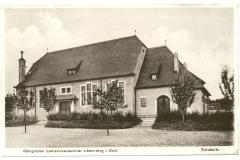 Budynek sali gimnastycznej Seminarium --1912