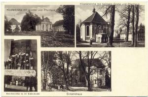 Dawny kompleks klasztorny Szymonki na pocztówce sprze 1945 r - zbiory Maciej Szczerepa (1) - Kopia - Kopia